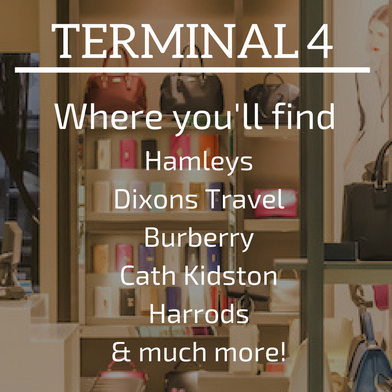 Terminal 4 Shops Heathrow