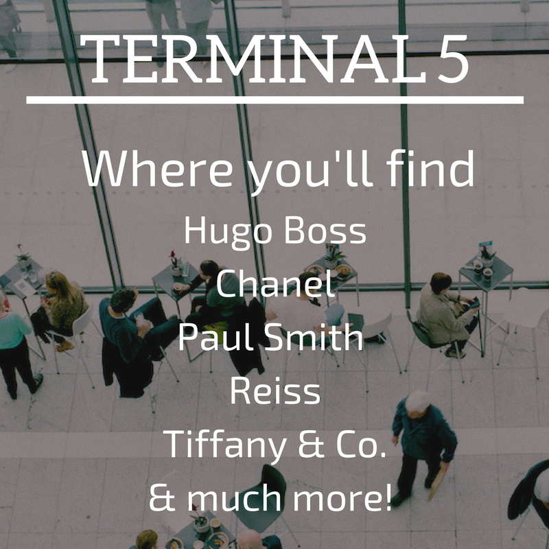 Terminal 5 Shops Heathrow