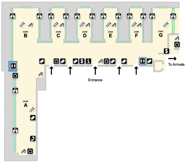 Map Of Heathrow Airport Terminal 3 Heathrow Terminal 3 Maps   Heathrow Airport Guide