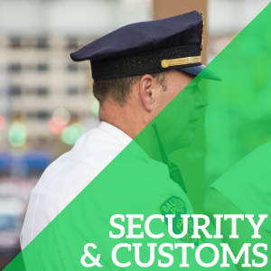 Terminal Information about Security and Customs