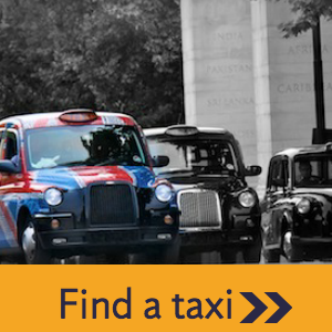 Find A Taxi to London