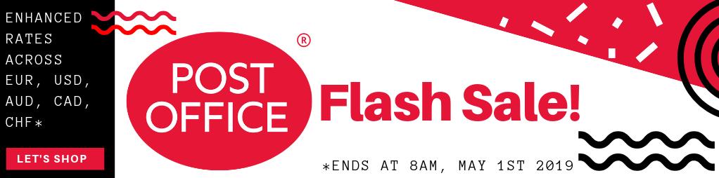 Post Office Flash Sale!