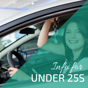 Car Hire Info for Under 25s