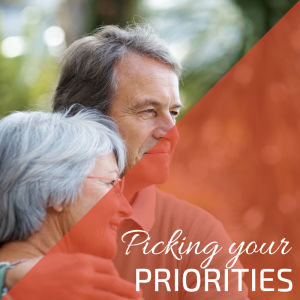 Picking your priorities for your senior travel
