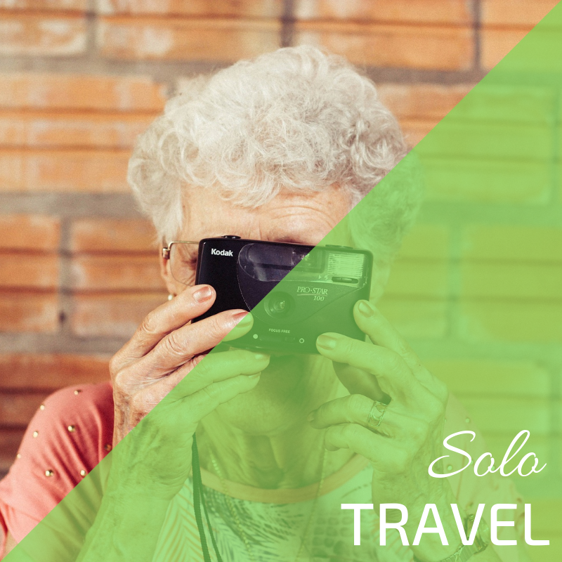 Senior solo travel