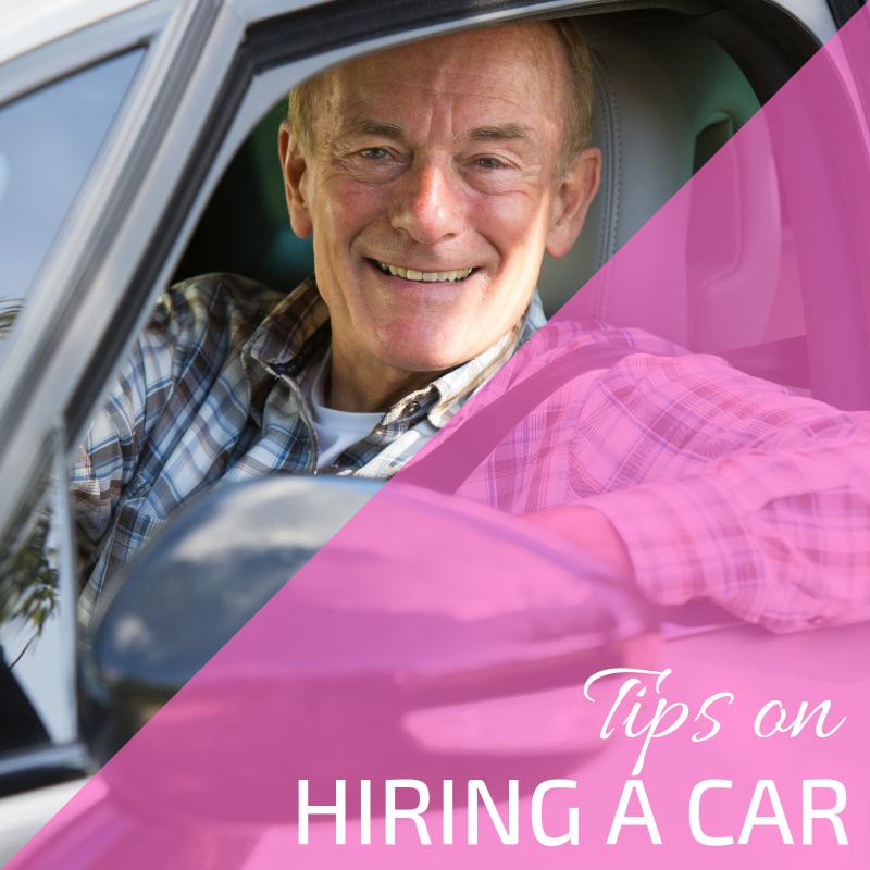 Tips on hiring a car