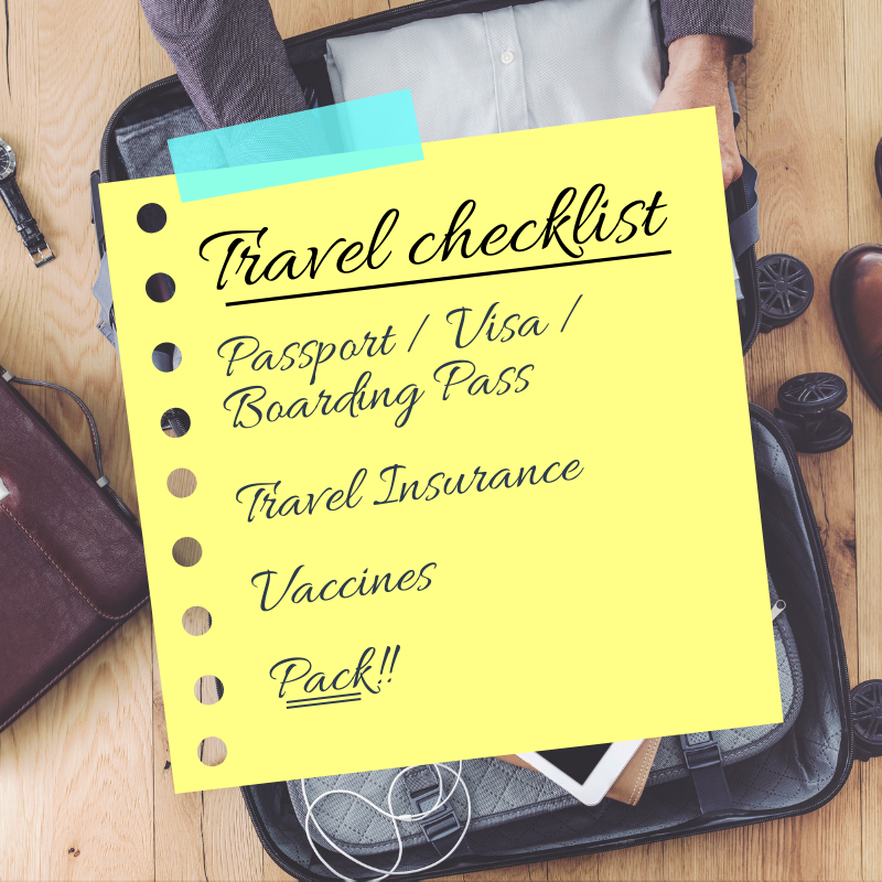 Travel checklist for your trip from Heathrow