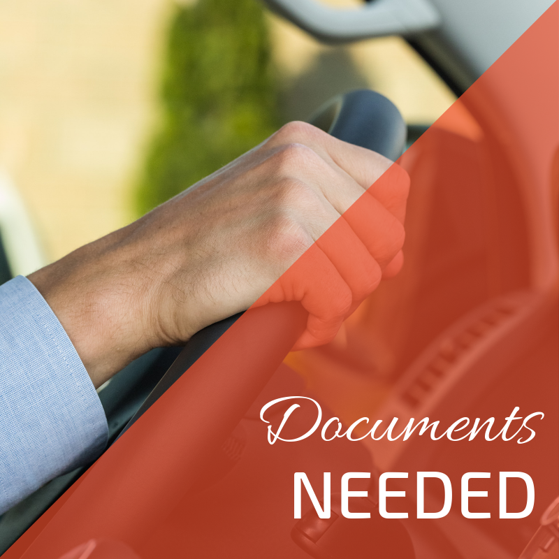 What documents do you need to hire a car?