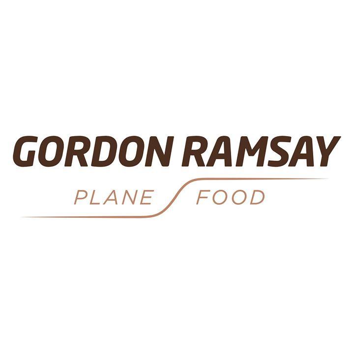 gordon ramsay plane food logo
