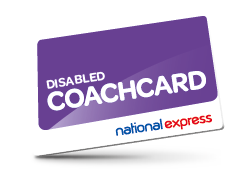 Disabled Coach card